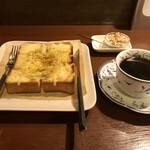 あぐろ焙煎珈琲店 - CHEESE MAPLE PEPPER、本日のホットコーヒー