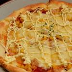 14409438 - ツナコーンピザ
