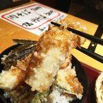 高田屋 - 程よい歯ごたえがあるイカ天も美味いですね〜。