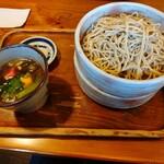 きり山 - 料理写真:鴨せいろそば大盛り(1,350円)