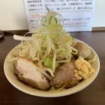 ラーメン 岩佐 - 料理写真:がっつり(味玉サービス付き)¥780
