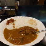 144099155 - 肉大盛りカレー