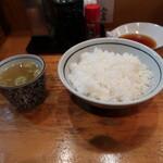 144099906 - 2杯目のスープ & 御飯