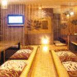 ルアーズ - バリ風の落ち着いた店内 掘りごたつ風テーブル席が人気