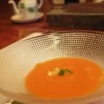 14410442 - パプリカとトマトの冷製スープ