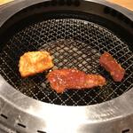 焼肉彩苑 モランボン - 焼いて焼いて