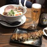 麺屋 穂 - 中華そばと、ちょい呑みセット