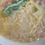 楽園 - 縮れ麺('-'*)