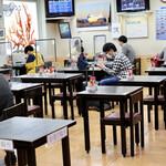 空港食堂 - コロナ対策もバッチリな空間