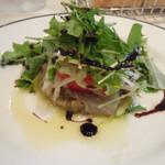 14411845 - 茄子と真鯛のサラダ