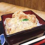 本格手打うどん 麺むすび - お腹がすいたら カツ丼(*゚▽゚*)