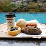 ベーカリー&テーブル 東府や 足湯カフェ -