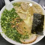 中華そば 高はし - 雲呑麺