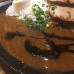 麺屋黒田 - ソースではなくラーメンのタレ(^。^)