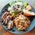 クラフトビアハウスモルト - お肉やお魚が選べるメインに選べるパスタ、どっさりサラダにフォカッチャまで盛り沢山!平日限定ワンプレートランチ1,000円