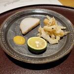Chisousottakuito - 白魚(島根県宍道湖産)、海老芋