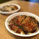 もみじ屋 - 料理写真:【Uber Eats利用】肉玉いか天ウドン@1,200円