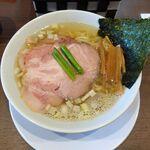 麺屋 あきのそら - 魚介しお。麺屋あきのそら(愛知県岡崎市)食彩品館.jp撮