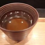 cuud - 朝カレーうどん(出汁)