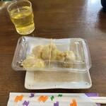 お食事処 大漁 - 2020/12/7 白子のてんぷら