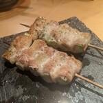 ヒヨク之トリ - アスパラの肉巻き