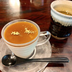 福助 - そば茶のプリン 400円(税抜)