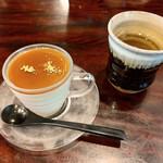 福助 - そば茶のプリン