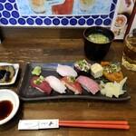 池袋西口 肉寿司 - 肉寿司盛合せ。