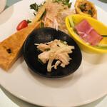 中華ダイニングザイロン - 前菜