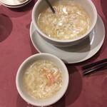 144144806 - 蟹肉入りふかひれスープ