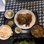 おふくわけ - 煮魚定食 ¥1,100