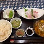 おふくわけ - 刺身定食 ¥1,300