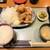 香鶏酒房 鳥八 - 香鶏酒房 鳥八@本郷三丁目店 もも唐定食・ご飯大盛(850円+0円)
