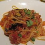 リストランテ ラ チャウ - トマトソーススパゲッティ