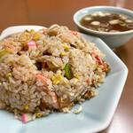 光陽楼 - 料理写真:五目チャーハン(スープ付き)¥750