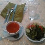 SPARTA - スープとサラダ