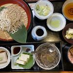 安江  - 蕎麦切り定食 3300円です