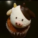 フェアリーケーキ フェア - 干支丑カップケーキ