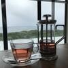 ソラニワホテルアンドカフェ - ドリンク写真:紅茶と海♪