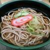 加賀 白山そば - 料理写真:かけそば(380円)