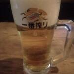 三幸 - 生ビール