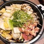 144187315 - 鶏すき鍋