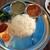 ルーフトップ ビアガーデン ヨコハマ - 料理写真:カーナセットのベジ(=ダルバート(ネパール定食))