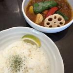 五○堂 - 北海道牛スネ肉(インドカレー)1400円