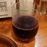 500円PIZZA 人生のヒマつぶし - グラスワイン275円(税抜)