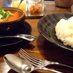 カレー亭ぜひ  - スープカレー