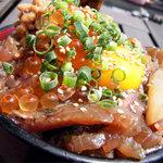 伊豆高原ビール - 海鮮ねばねば丼