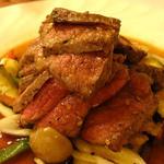 柿乃木カフェレストラン - 牛肉のジュージュー焼き
