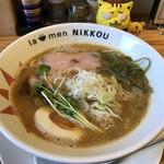 ラーメンにっこう - 鶏白湯(醤油)  800円(税込)