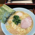 寿々喜家 - らーめん中850円 味玉100円